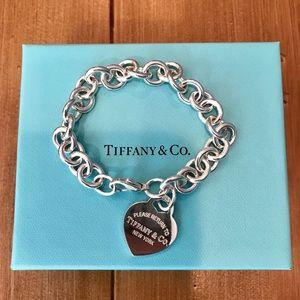 Return to Tiffany Silver Charm Bracelet